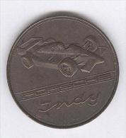 Médaille Porsche Indy 1988 - 41 Mm - Cuivre Patiné - Jetons & Médailles
