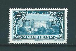 Colonie  Grand Liban Timbre  De 1926   N°80  Neuf * - Grand Liban (1924-1945)