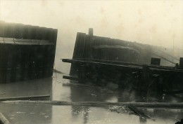 France Port De Dunkerque Travaux D'Extension Digue Sud & Ouest Ancienne Photo 1930 - Places