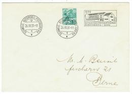 Suisse /Schweiz/Svizzera/Switzerland //1925//lettre Pour Berne, Bureau De Poste Automobile - Suisse