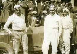Sicile Palerme Course Targa Florio Pilote Boillot Sur Peugeot Ancienne Photo Rol 1925