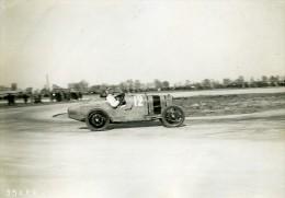 France GP De Provence Miramas Pilote Duller Voiture Talbot Ancienne Photo Rol 1925