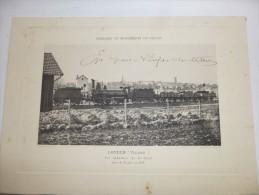 LOUDUN - Vienne  -Superbe  Héliogravure Paysages Et Monuments Du Poiitou De Robuchon De 1884.. Format 32x23. - Other