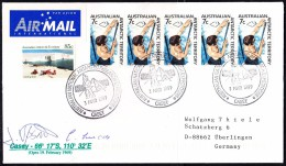 ANTARCTIC, AAT, CASEY, 3.MAR 1999, Cachet + 2 Signatures  ,look Scan !! 23.10-10 - Antarctische Expedities