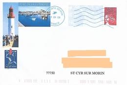 PAP Illustré Port De La Cotinière Charente Maritime - Neopost 03151A - Phare Bateau Mer - Lighthouses
