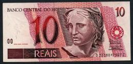 Brésil P 245Ah 10 Reais  2003 * UNC * N° D2218047967C . - Brasilien