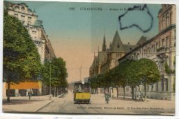- 105 - Alsace - Strasbourg - Avenue De La Marseillaise, Tramway, écrite, TBE, Scans.. - Strasbourg