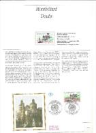 Enveloppe 1er Jour  + Encart  Montbéliard 1993 - 1990-1999