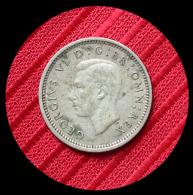 3 Pence Argent  Georges VI Grande Bretagne 1941 - 1902-1971 : Post-Victorian Coins