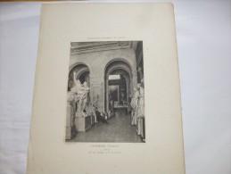 POITIERS - Vienne  - Le Musée -  Héliogravure Paysages Et Monuments Du Poiitou De Robuchon . Format 46x32. - Other
