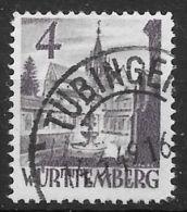 Württemberg-Hohenzollern / MiNr.  29   O / Used  (s148) - Zone Française