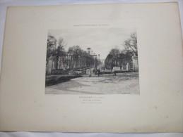POITIERS - Vienne  - Parc Jardin De Blossa  -  Héliogravure Paysages Et Monuments Du Poiitou De Robuchon . Format 46x32. - Other