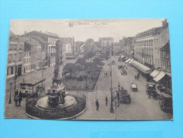 Place Verte / Anno 19?? ( Zie/voir Foto Voor Details ) !! - Verviers