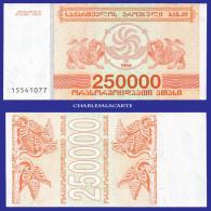 1994 GEORGIA  250 000 LARIS  GRIFFINS  GRAPES & VINES  SERIAL No....077  KRAUSE 50 UNC. CONDITION - Géorgie