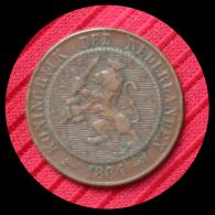 2 1/2 Cent Pays Bas 1884 - [ 6] Monnaies Commerciales