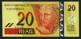 Brésil P 250e  20 Reais  2007 * UNC * N° B 2075038523A . - Brasilien