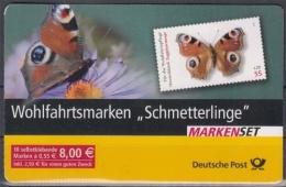 Bund MiNr. MH 60 O Schmetterlinge - BRD