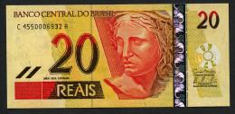 Brésil P 250f  20 Reais   2010 * UNC * N° C 4550006932A . - Brasilien