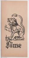 Signe Du Zodiasue - LÖWE (LION) (82107) - Ex-libris