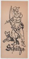 Signe Du Zodiaque - SCHÜTZE (Sagittaire) -  (82108) - Ex-libris