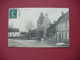 Cpa.r - Tourny (27) - Place De L'église - éditions Lavergne - Autres Communes