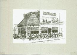 CP.   ROCHEFORT.  HOTEL  CENTRAL. Petit  Pli  Angle  Haut  Droit - Rochefort