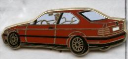 Pin´s Voiture BMW Coupé Rouge (Arthus Bertrand) - BMW