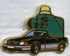 Pin´s Automobile Mercedes Cabriolet GS 27 - Mercedes