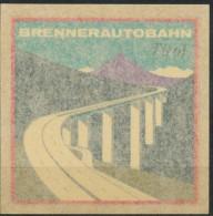 Aufkleber  Brennerautobahn - Verkehr & Transport