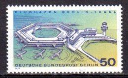 Berlin 1974 Mi. 477 ** Flughafen Berlin-Tegel Postfrisch (6872) - Berlin (West)
