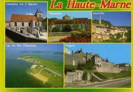 52 Colombey Les 2 Eglises Chaumont Joinville Lac Du Der Chantecoq Langres - Frankrijk