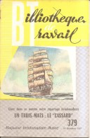 """Bibliotheque De Travail-n°379-un Trois-mats""""le Cassard""""-marine - Livres, BD, Revues"""