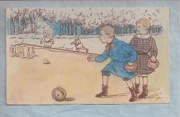 CPA  - Booling D'enfants   // BOULES - Bowling