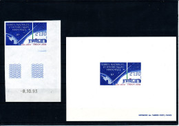 1994  TAAF  (Station Lidar  - ND Coin Daté  +  EL)  Superbes ** TRES T RARES - Non Dentellati, Prove E Varietà