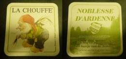 La Chouffe: Rv: Nobless D'ardenne - Beer Mats