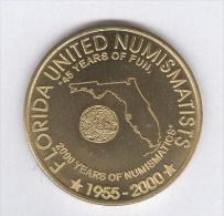 Jeton US - Florida United Numismatits - 2000 - Estados Unidos