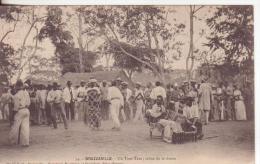 5-Brazzaville-Congo Francese-Usi-Costumi-Feste-Tradizioni: Danzatori E Suonatori Al Suono Del Tam-tam-v.1906 X Paris - Congo Francese - Altri