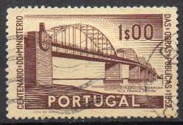 Portugal  Mi. 784  Eisenbahnbrücke  O - Trains