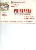 13 ARLES BUVARD TISSUS TISSU BOUISSON ILLUSTRATEUR DEVINETTE HUMOUR PUBLICITE - Textile & Clothing