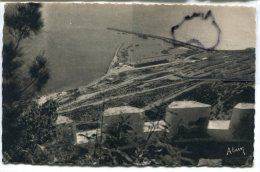- 15 - AGADIR - Le Port, Vu De La Kasbah, écrite En 1949, Carte Artistique, Signée Alain, Scans. - Agadir