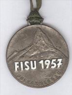 Médaille FISU 1957 - Fédération Internationale Du Sport Universitaire - Oberammergau - Non Classés