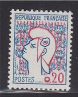 = Marianne De Cocteau, N°1282 Timbre Neuf - 1961 Marianne De Cocteau