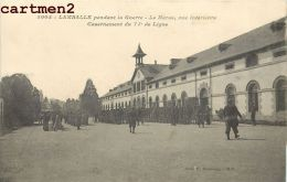 LAMBALLE PENDANT LA GUERRE LE HARAS CASERNEMENT DU 71e DE LIGNE MILITAIRE - Lamballe