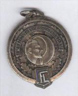 Médaille Fédération Française De Lawn Tennis - 1962 - Jetons & Médailles