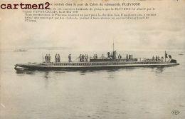 LE SOUS-MARIN PLUVIOSE DANS LES PORT DE CALAIS SOUS-MARIN SUBMARIN U-BOAT - Sous-marins
