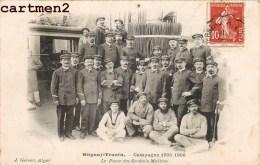 DUGUAY-TROUIN CAMPAGNE 1914-1915 POSTE DES SECONDS-MAITRES MARINE MIITAIRE MARIN - Guerre