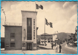 MATTUGLIE - Casa Del Fascio - Municipio ( Croatia ) Travelled 1942. ITALY FASCIST PARTY * Matulji Istria Croazia Trieste - Kroatien