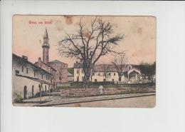 1907. Bosnia And Herzegovina - Bilek - Bileca Mosque Islam Used Old Postcard  (st104) - Islam