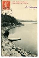 EN MORVAN (58) - Les Settons - Un Coin Du Lac - Convoyeur-ligne Saulieu à Ouroux - Non Classés