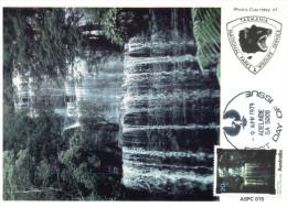 (765) Australia Maxicard - Russels Falls - Maximum Cards